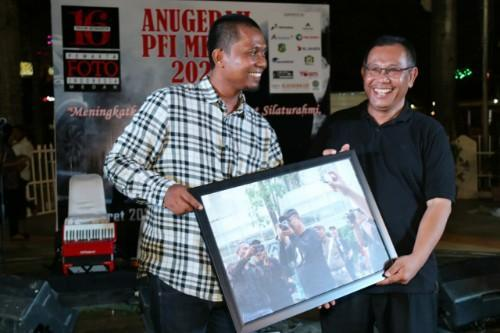 Anugerah PFI Medan ke-16, Akhyar Nasution: Pewarta Foto Teruslah Berkarya