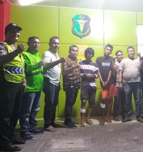 Bobol Rumah. Chaniago dan Nando Ditembak Polsek Medan Area