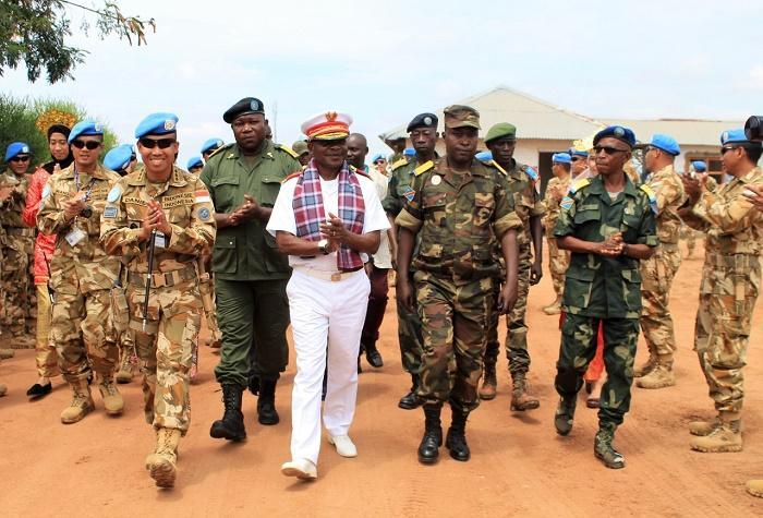 Pasukan Garuda Jalin Keakraban dengan FARDC Republik Kongo