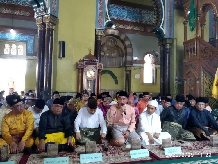 Gubernur Sumut dan Bupati Langkat Dukung Pemindahan Pusara T Amir Hamzah