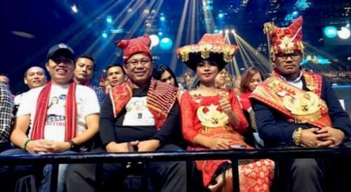 Dukung Lyodra, Plt Ketua TP PKK Nonton Bareng Grand Final Indonesian Idol