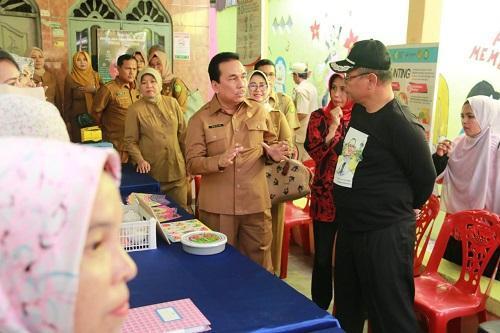 Plt Wali Kota Medan Tinjau Posyandu Lestari IV Pekan Labuhan