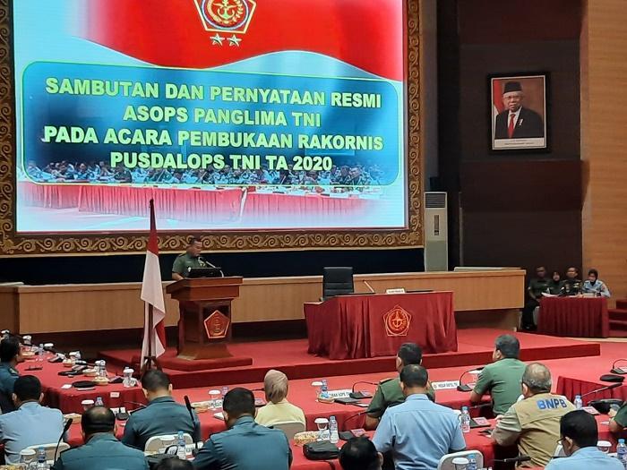 Rakornis Pusdalops TNI 2020, Antisipasi Fenomena Global dan Ancaman Kontemporer