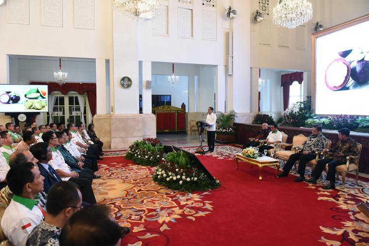 Presiden: Sektor Pertanian Berikan Kontribusi Besar Bagi Pembangunan Ekonomi