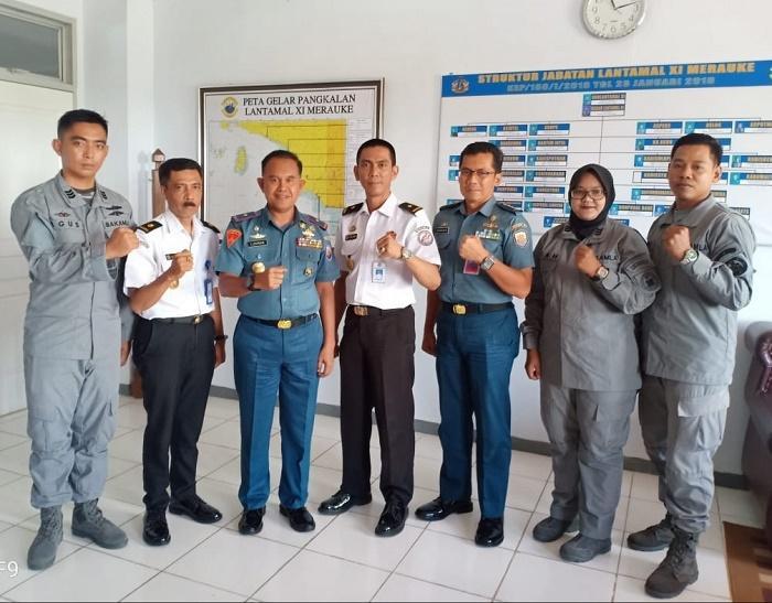 Sinergitas Keamanan Laut, Kamla Zona Maritim Timur Sambangi Institusi