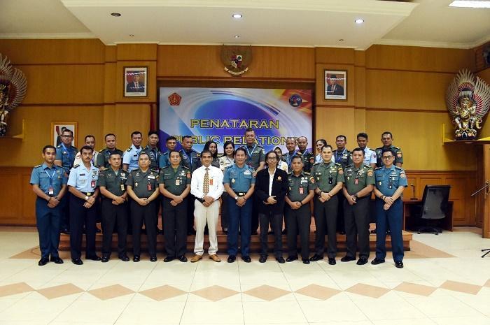 Kapuspen TNI Buka Penataran Public Relation TNI, Penyebaran Berita Bohong Bahayakan Persatuan dan Kesatuan