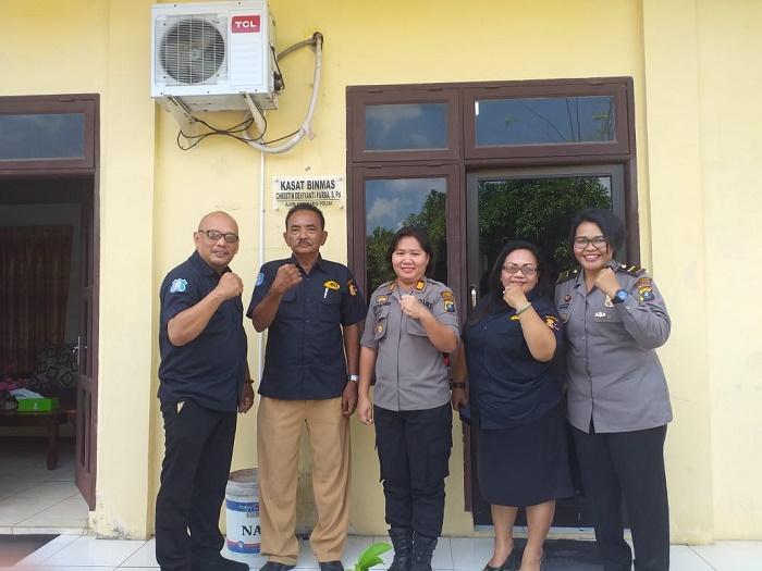 Pengurus DPC Asosiasi Profesi Satpam Indonesia Kunjungi Polresta Deli Serdang