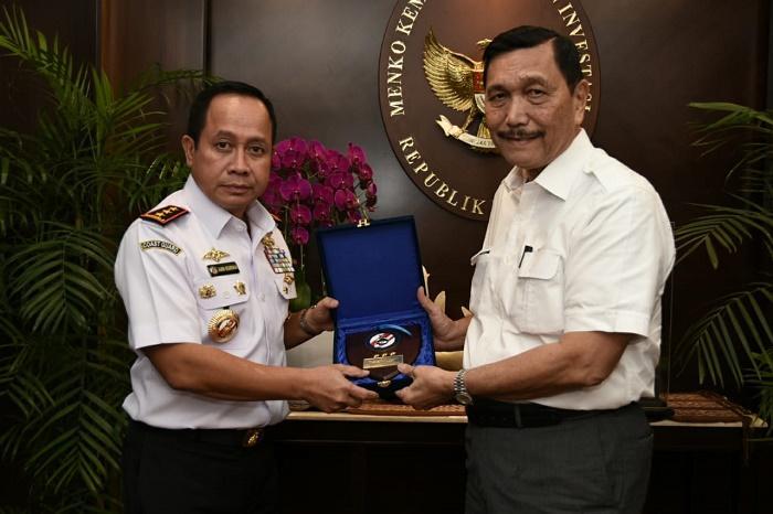 Luhut Binsar Pandjaitan Berharap Omnibus Law Bakamla RI Menjadi Indonesian Coast Guard Bisa Dipercepat