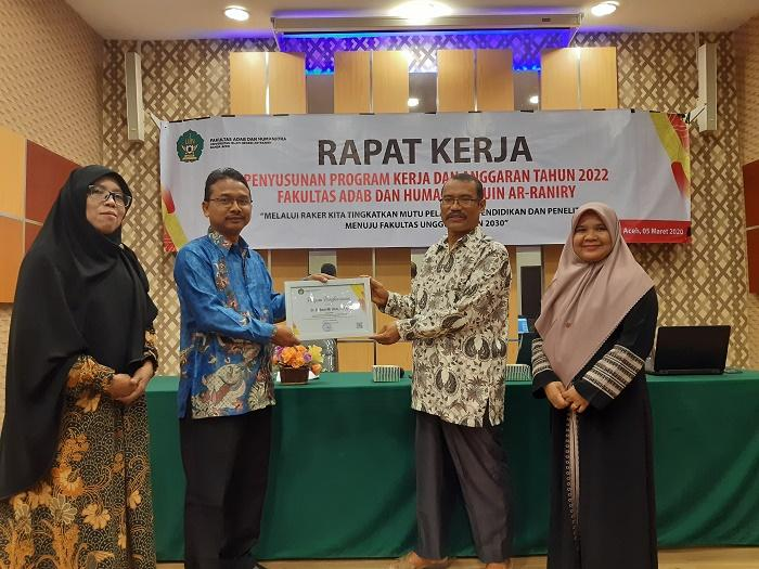 FAH UIN Ar-Raniry Gelar Raker 2022 di Banda Aceh