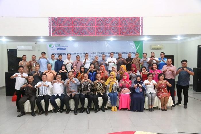 Bapomi dan Artipena Sumut Bentuk Lima Korda di Tapanuli Tengah, Jalin MoU dengan BPJS Ketenagakerjaan