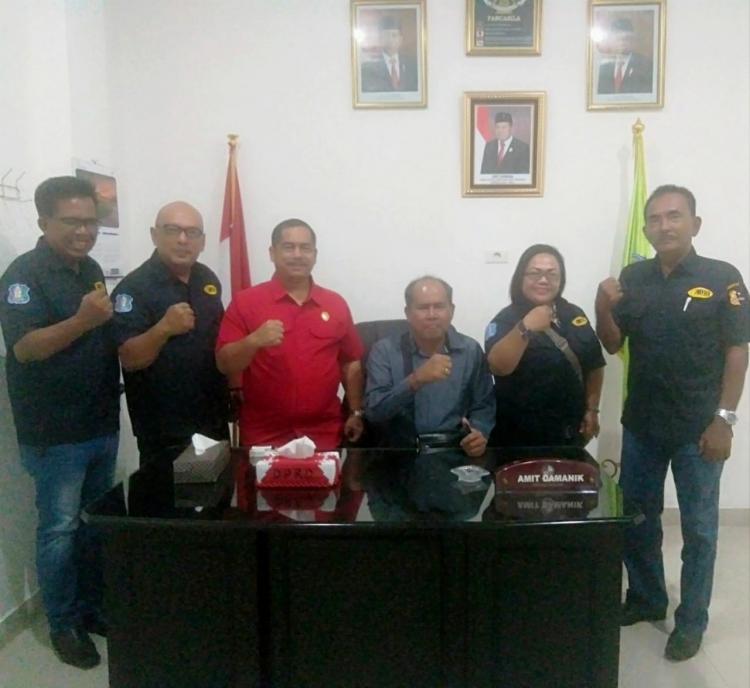 DPC APSI Deliserdang Bersilaturahmi ke Dewan Penasehat