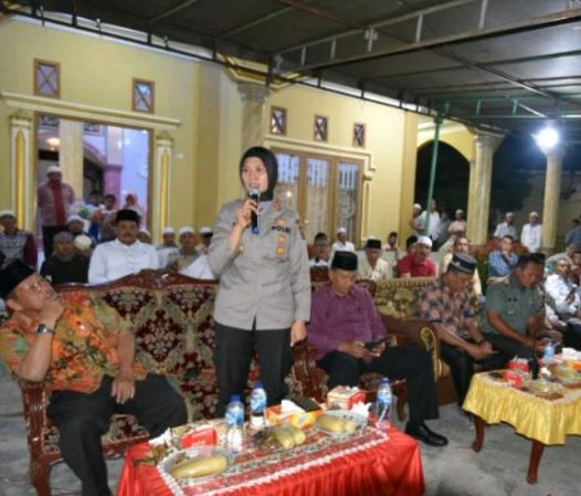 Kapolres Padangsidimpuan Ajak Warga Kampung Darek Usir Pengedar Narkoba
