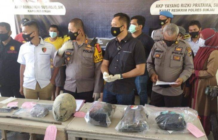 Polisi Tangkap Pelaku Pembunuh Sadis Pasutri di Perkebunan Tebu PTPN II Binjai, Ternyata Warga Sei Mencirim