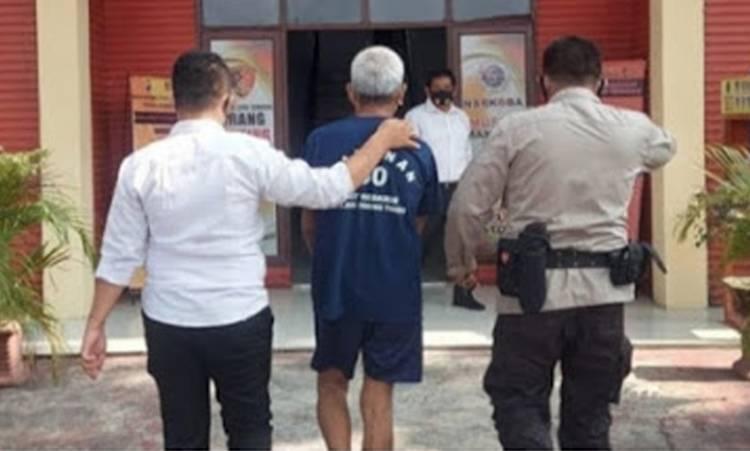 Polres Tebing Tinggi Tangkap Kakek Cabul, 6 Anak di Bawah Umur Jadi Korban, Termasuk Cucu Kandungnya