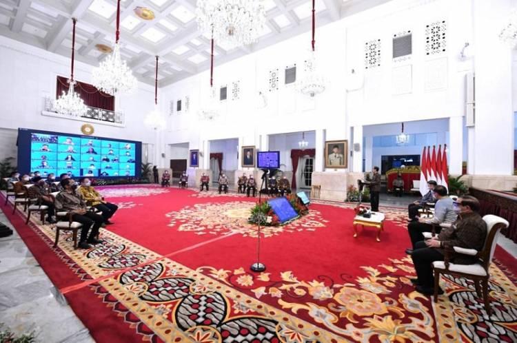 Presiden Jokowi Buka Rakernas Kemendag, Gaungkan Gernas BBI, Cintai Produk Dalam Negeri