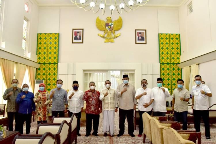 IKAL Sumut dan IKAL Aceh Silaturahmi dengan Gubernur Sumut
