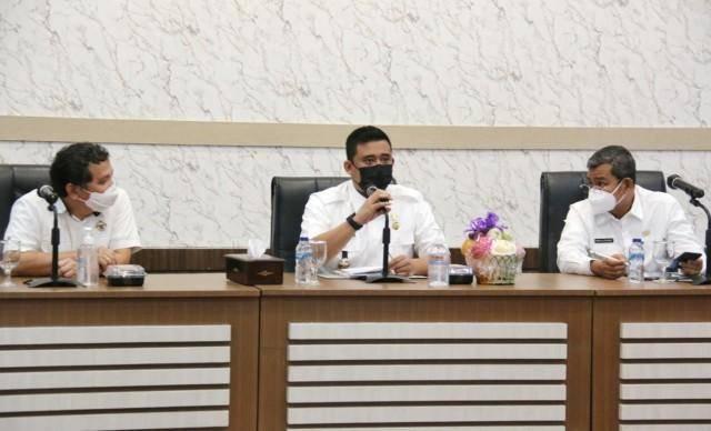 Pimpin Rapat Bersama BPK, Walikota Medan Ingin OPD Memiliki Standar Kinerja