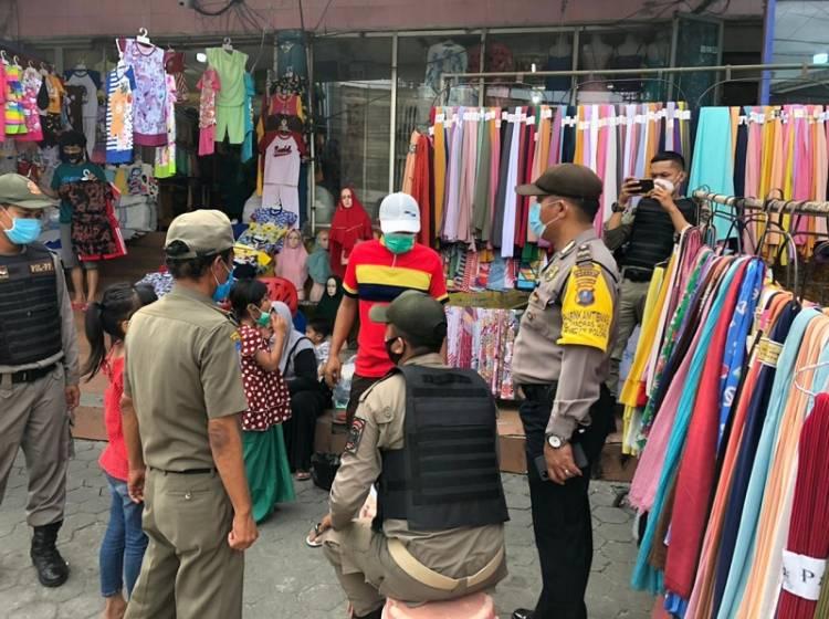 Tak Pakai Masker, 9 Warga Terjaring Operasi Yustisi Polsek Medan Baru