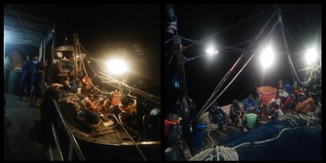 Kapal Patroli Polair Kembali Tangkap Kapal Nelayan Ilegal di Perairan Batubara