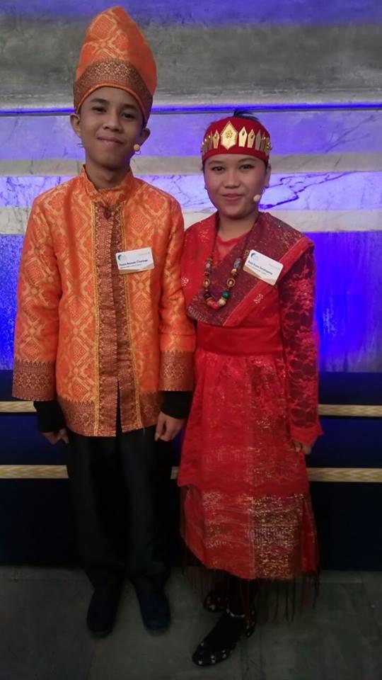 Dua Anak Medan Jadi Pembicara Its Time to Talk pada Global Child Forum di Swedia