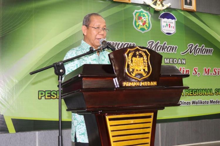 Walikota Medan Jamu Makan Malam Peserta Temu Wilayah LKSA se-Sumatera