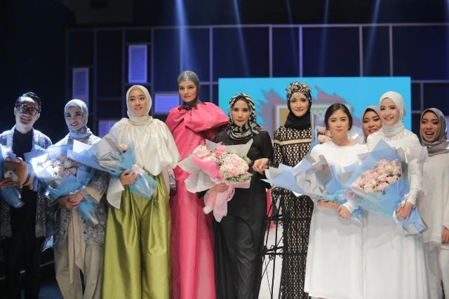 Wardah Fashion Journey Perkenalkan Tren Terbaru di Panggung Mode Muslim Fashion Festival 2018