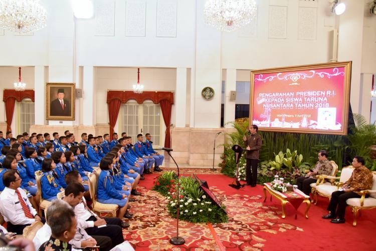 Presiden Jokowi: Infrastruktur Dibangun untuk Mengoneksi 17.000 Pulau di Indonesia