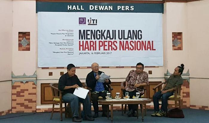 AJI dan IJTI Minta Revisi Tanggal Hari Pers Nasional