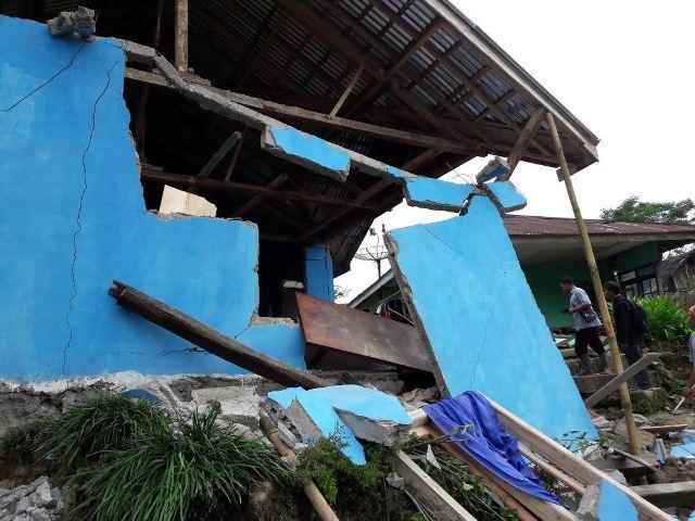 Gempa Banjarnegara Berkekuatan 4,4 SR, Ratusan Bangunan Rusak