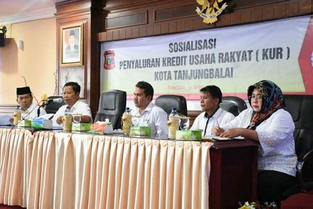 Wakil Walikota Buka Pelaksanaan Sosialisasi KUR Kota Tanjungbalai Tahun 2018