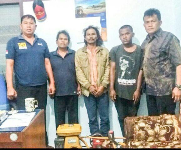 Tiga Pencuri dan Perusak Lahan Diamankan Polsek Tanah Karo