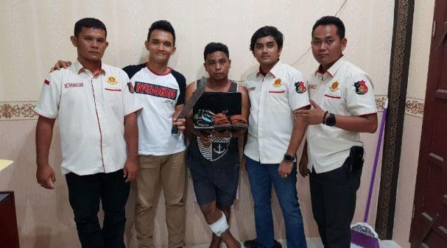 Polsekta Kota Pinang Sukses Ringkus Maling di Rumah Br Silaban