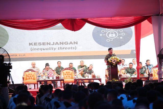 Kokohnya Sinergitas dan Soliditas TNI-Polri dapat Mewaspadai Dampak Global