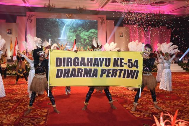 Dharma Pertiwi Beri Dukungan Positif dalam Capai Tugas Pokok TNI