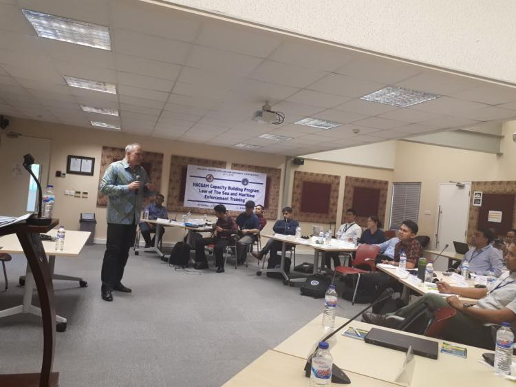 Bakamla RI Gelar Latihan Bidang Maritime Enforcement di JCLEC