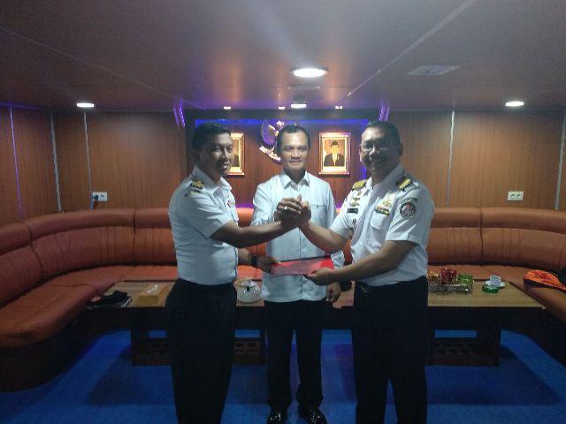 Kapal Tj Datu Bakamla RI Akan Dikomandoi Capt Nyoto Saptono