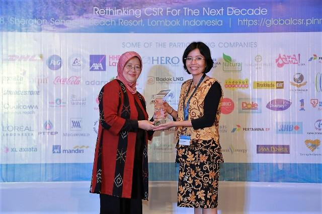 Indosat Ooredoo Raih Tiga Penghargaan di Ajang Global CSR Award 2018 & The Global Good Governance Awards 2018