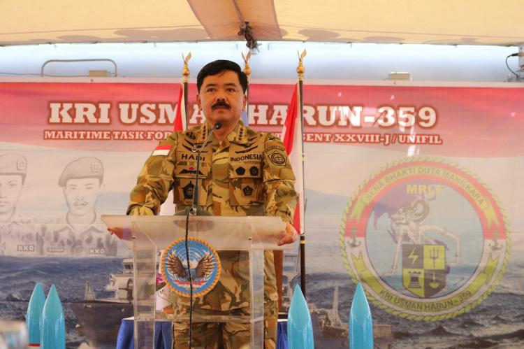 Panglima TNI: Misi Perdamaian Dunia Merupakan Misi Kemanusiaan yang Sangat Mulia