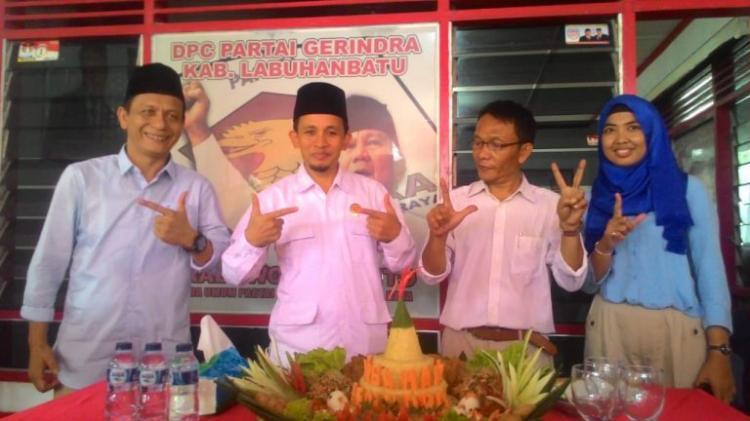 Tim BPN Prabowo Sandi Bantah Hadiri Acara Kependopoan Pemkab Labuhanbatu