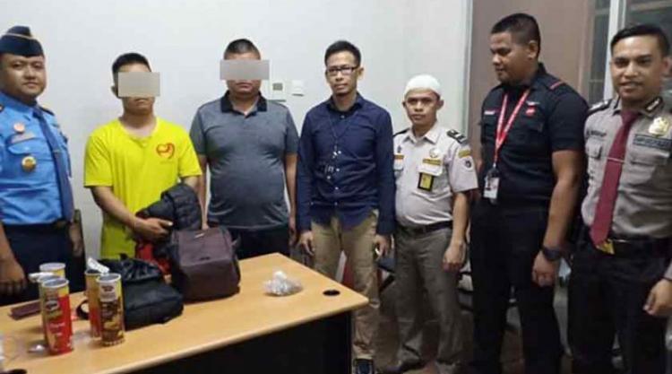 Dua WNA Tiongkok Selundupkan Sisik Trenggiling Dicokok di Bandara Kuala Namu