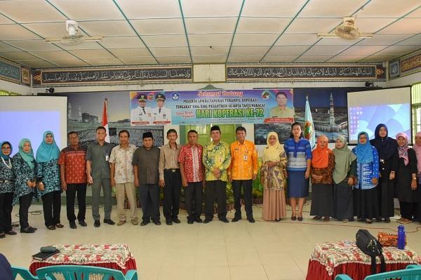 Dinas Koperasi dan UKM Gelar Lomba Tangkas Terampil Koperasi Tingkat SLTA se-Kota Tanjungbalai