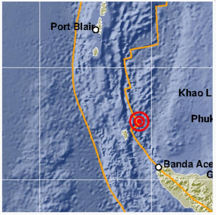 Pulau Sabang Diguncang Gempa 5.1 SR