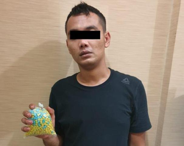 Polisi Amankan 1000 Pil Ekstasi Jenis Baru dari Eks Pegawai Honorer Pemko Medan