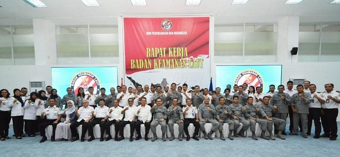 Pra Raker Bakamla RI Bahas Kesiapan Keamanan dan Keselamatan Laut Indonesia