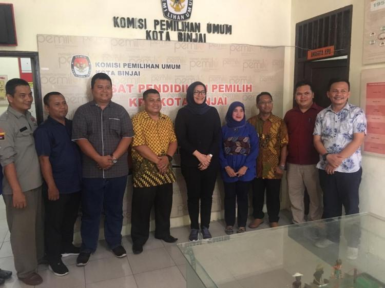 Berjalan Baik, Komisioner KPU RI Puji KPU Kota Binjai