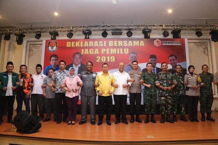 Kapolrestabes Medan Gelar Deklarasi Pemilu Damai