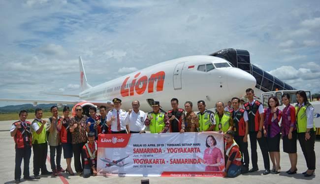 Lion Air Resmikan Destinasi Baru, Rute Samarinda-Yogyakarta
