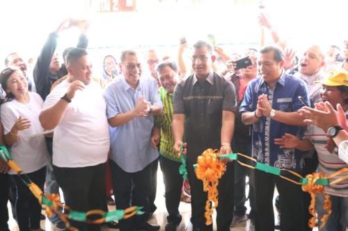 Walikota Medan Gelar Syukuran Gedung Baru Pasar Kampung Lalang