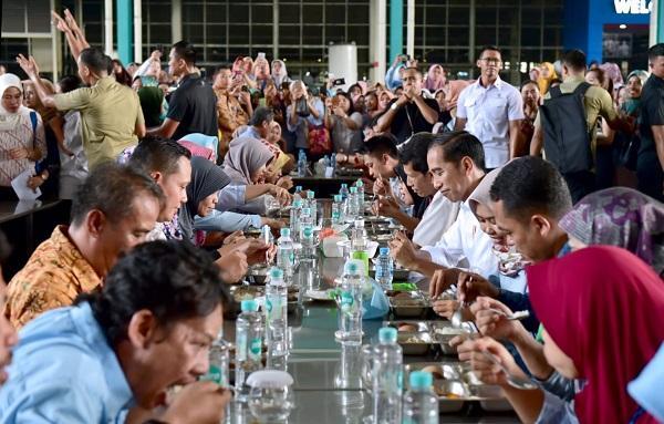 Presiden Jokowi Berharap Peringatan May Day Rabu Besok Berlangsung Kondusif