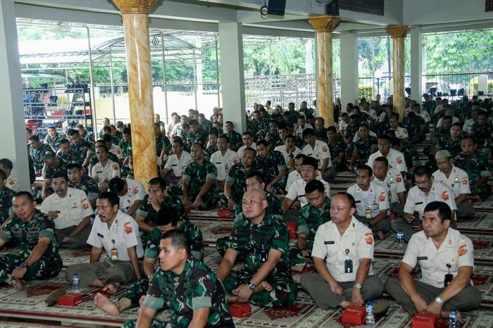 Isra Miraj Mabes TNI, Panglima TNI: Implementasikan Nilai Sholat dalam Kehidupan